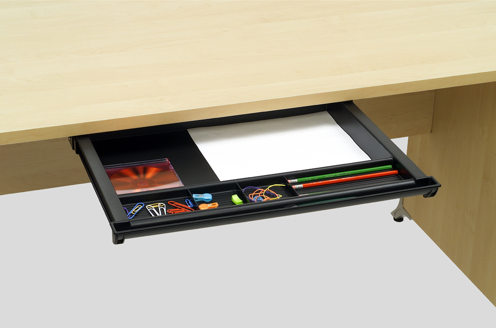 Wide Pencil Drawer Custom Accents