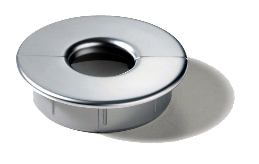 80mm Executive Metal Donut Custom Accents