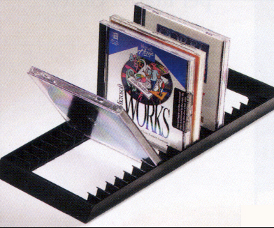 This Unit Is Designed To Allow Easy Viewing Of Your Cds By Flipping Them Forward